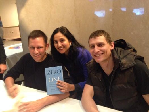 @bindupowercoach with Peter Thiel @peterthiel