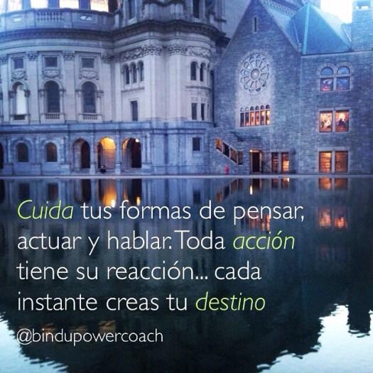 action reaction destiny creation