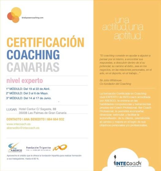 Certificación Coaching Canarias, intecoach y viccal coaching