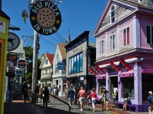 Provincetown's Commercial Street Shops, Provincetown, Cape Cod