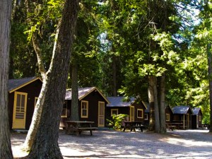 Apgar Village Lodge and Cabins adjacent to Lake McDonald