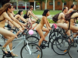 Naked Bike Ride