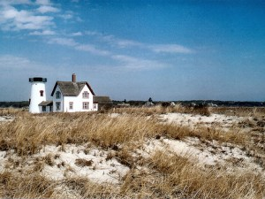 Lighthouse, North and South beaches, Chatham, Cape Cod