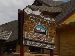 St. Mary Lodge and Resort anchors the east portal of Going-to-the-Sun Road.