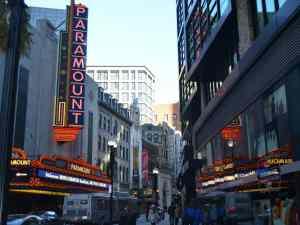 Paramount Theater, Theater District, Boston
