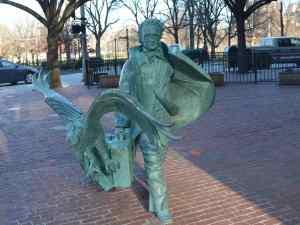 Edgar Allen Poe, Boston