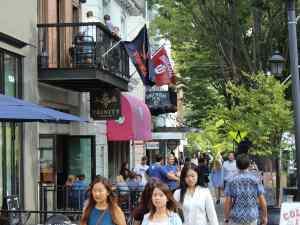 """Charlottesville """"Corner"""" Restaurant District"""