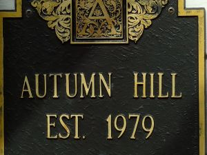 Autumn Hill Vineyards Signage