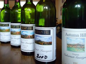 Autumn Hill Vineyards Bottles