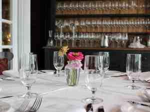 Goodstone Inn Dining Room