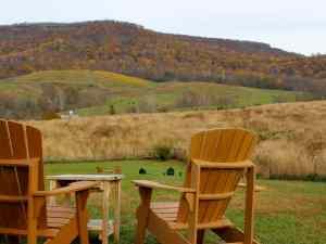 Glen Manor Vineyards Seating