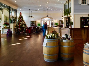 Breaux Vineyards Tasting Bar