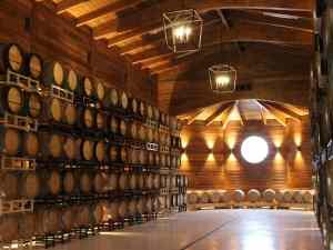 Greenhill Vineyards Barrel Room