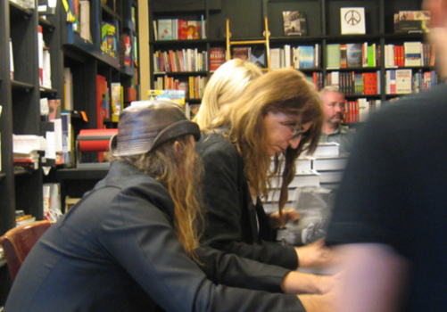 Patti Smith at Book Soup