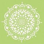 Schablone Mandala 7 - Stempel & Schablonen