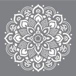 Schablone Mandala - Stempel & Schablonen