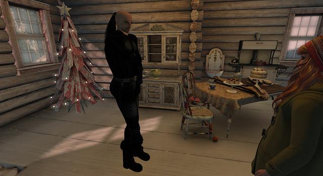 Stefan visiting