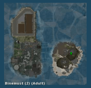 Binemust from maps