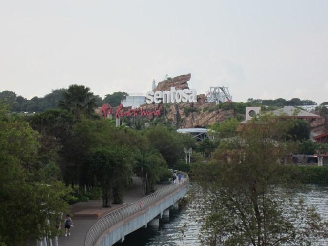 Der Weg nach Sentosa Island