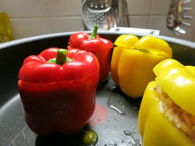 Gefüllte Paprika gefüllt