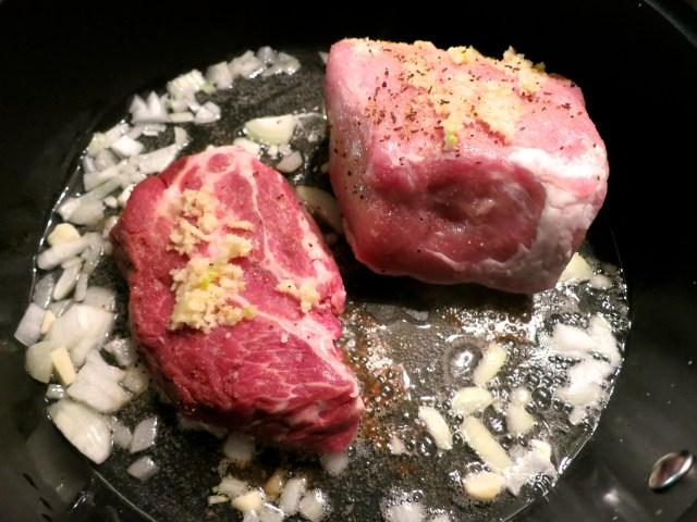 Schweinsbraten mit Krautsalat – 04