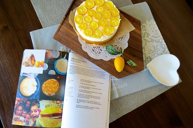 Topfentorte mit Orangen – 19