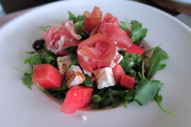 Salat mit Wassermelone – 08