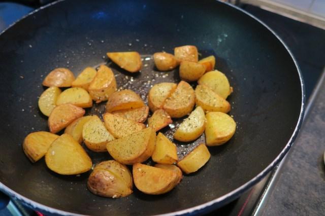 Hühnerbrust mit Fenchelsalat und Orangendressing – 05