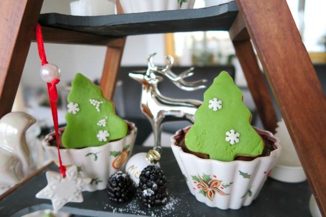Weihnachtsbaum-Muffins – 49