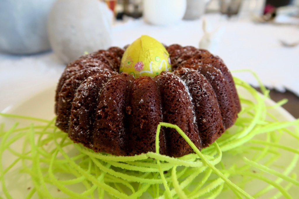 Ostermenü - Schokoladengugelhupf