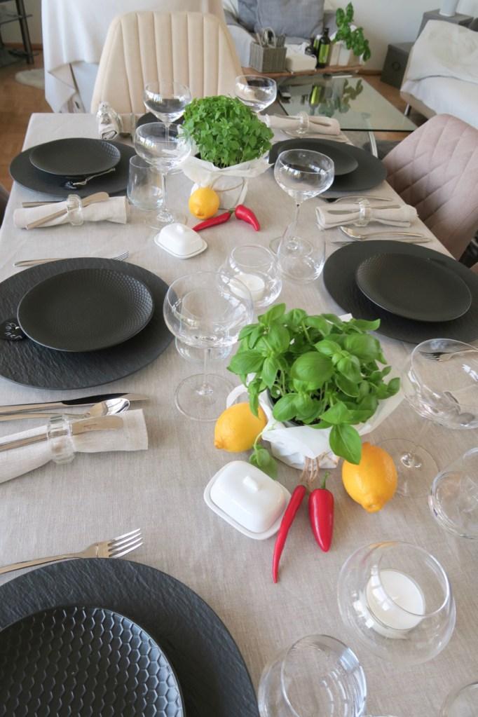 Tischdekoration Birthday Party