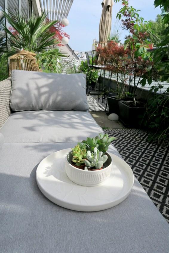Terrassendekoration