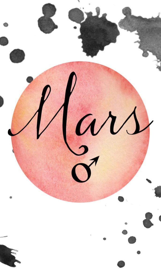 mars tarot-size