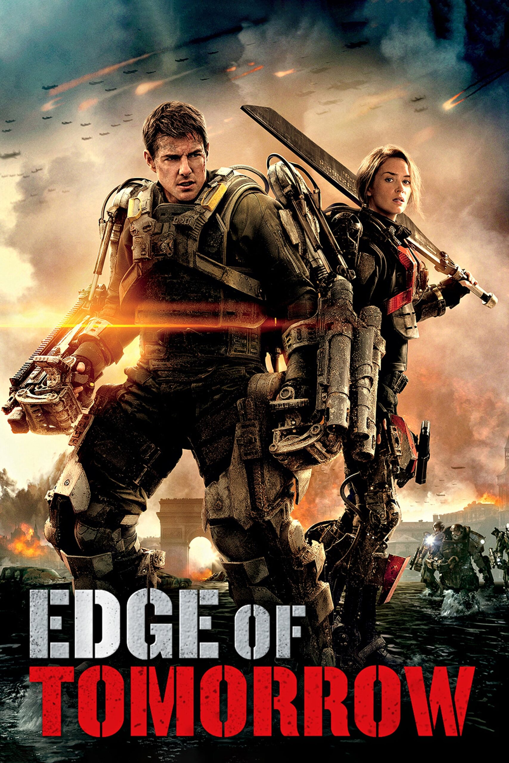 Edge Of Tomorrow Streaming : tomorrow, streaming, Tomorrow, Movie, Streaming, Online, Watch, Amazon,, Google, Play,, Hungama,, Youtube,, ITunes