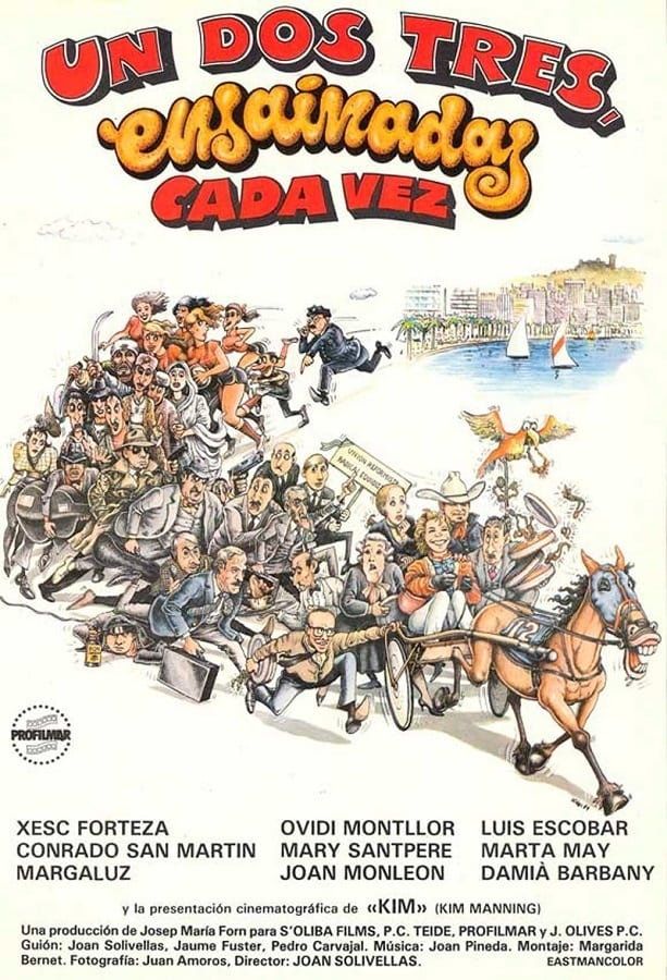 Un Dos Tres Streaming : streaming, Tres..., Ensaïmades, Catalan,, Spanish, Movie, Streaming, Online, Watch