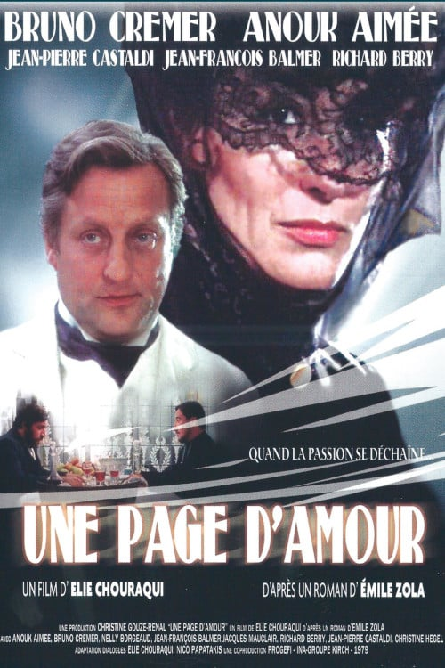 Un Roman D Amour Streaming : roman, amour, streaming, D'amour, French, Movie, Streaming, Online, Watch