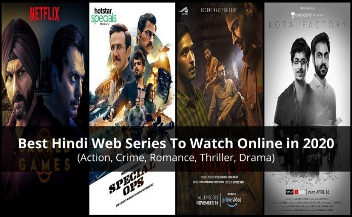 Best Hindi Web Series To Watch Online in 2020