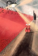 Red-Wall-by-Balbusso-Sisters-for-The-Handmaids-Tale-by-Margaret-Atwood