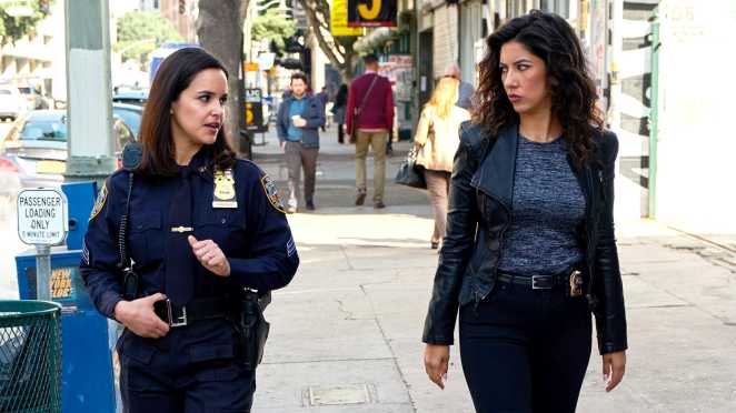 Rosa and Amy from b99