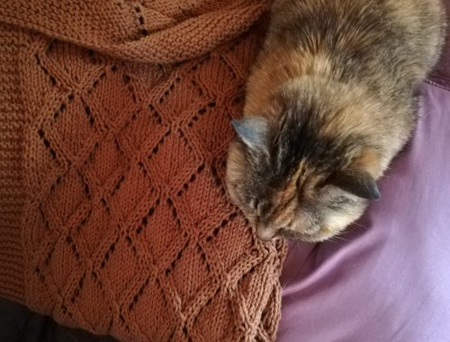Marius blanket tricot