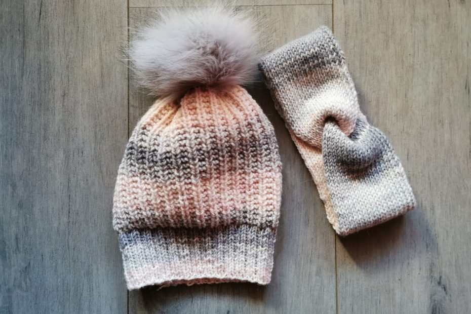 ensemble tête au chaud tricot