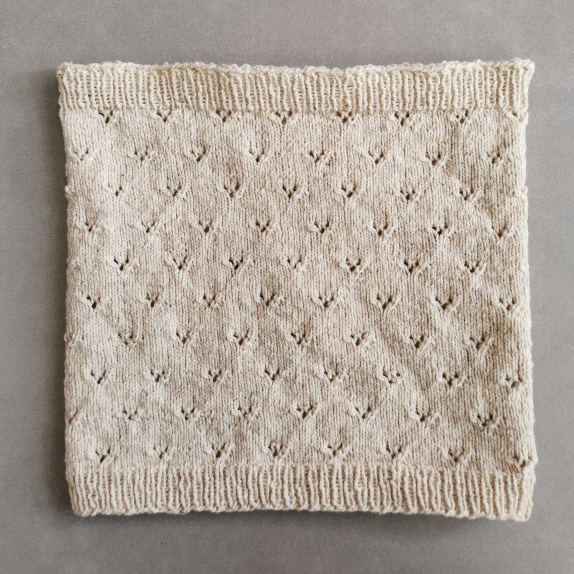 Col Chanterelle - modèle gratuit tricot