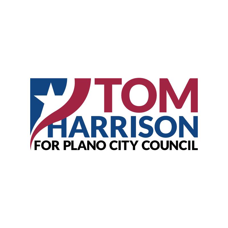 Tom Harrison Logo Design for Plano City Council Race