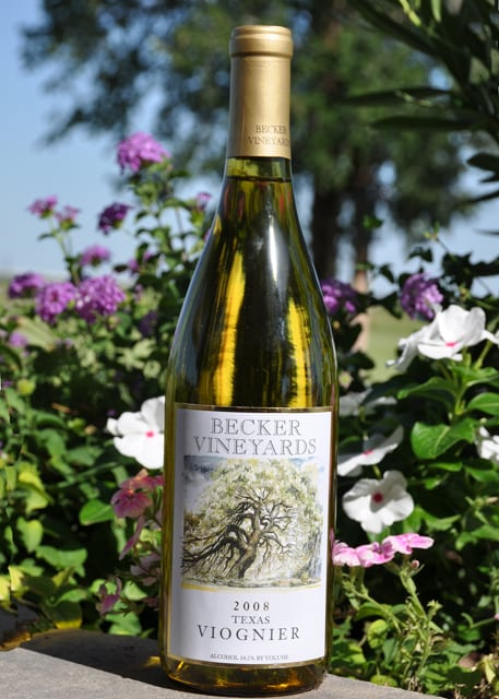 Becker Vineyards 2008 Viognier wins a Silver