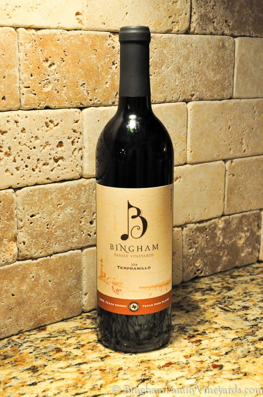 2014 Tempranillo Bingham Family Vineyards