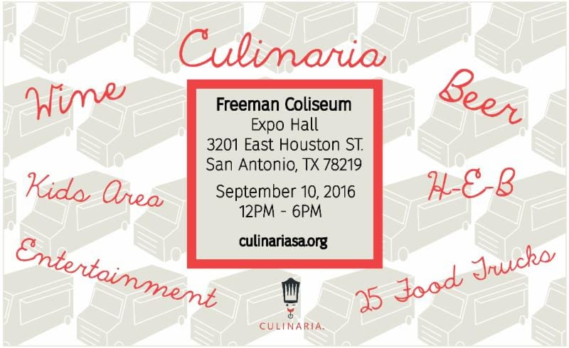 Culinaria Food Truck Event 2016 in San Antonio