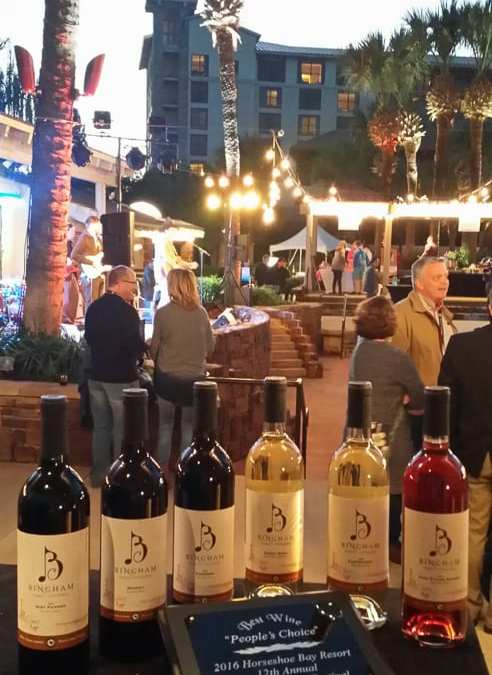 People's Choice Award – Horseshoe Bay Wine & Dine 2016
