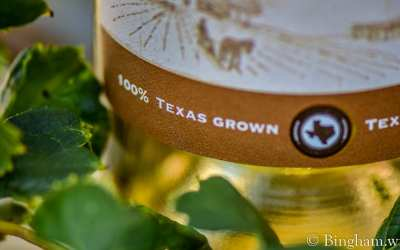 100% Texas Grown Wine