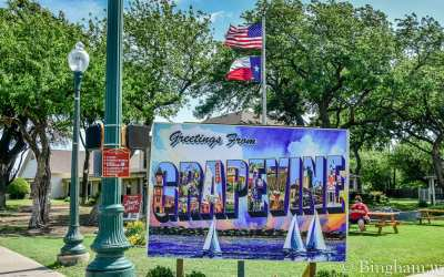 Preparations for Grapevine Main Street Days Reimagined!