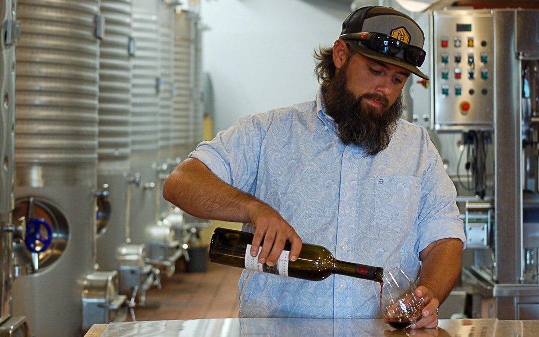 Sam Jennings, Head Winemaker at Bingham Family Vineyards